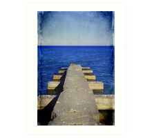 Lake Michigan Pier© Art Print