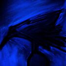 abstract crow by Mark Stanley