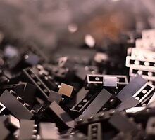 Black Legos  by Sarah Bjorklund