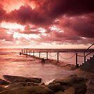 Coogee Rock Pool Sunrise by creativemonsoon