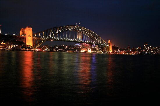Sydney Harbour Bridge by hans p olsen
