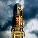 The Perret Tower, Amiens, France (The Candle) by buttonpresser
