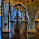 Under the bridge HDR by John Vandeven
