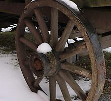 Wagon Wheel by Kenneth Hoffman