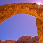 Rainbow Bridge, Lake Powell by David Chesluk