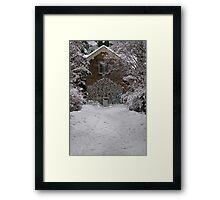 East Gate - Royal Botanic Gardens Edinburgh Framed Print