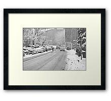 Inverletih Row - Edinburgh Framed Print