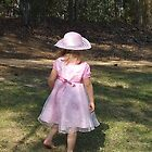 Autumn's Easter Dress, Gaston, South Carolina by Karen L Ramsey