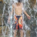Summer Water Fun2 - Greenville by Karen L Ramsey