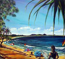 Noosa North Shore by robert (bob) gammage
