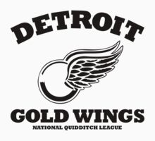 Detriot Gold Wings Home Kids Clothes