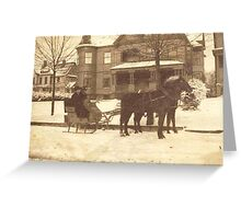 A Late-Victorian Winter ~ Tonawanda, NY Greeting Card