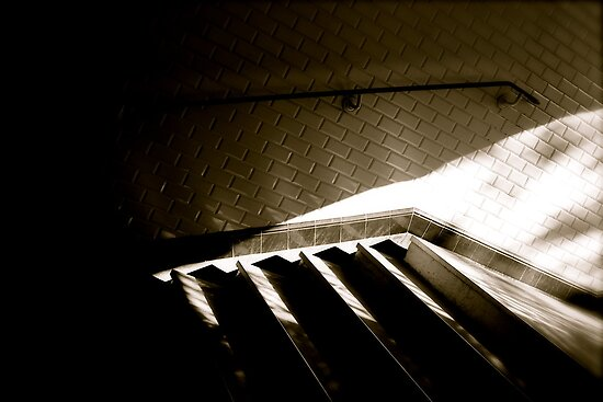 Paris Metro .... waiting for a shadow..... by 1more photo