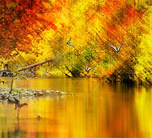 Autumn Mirage by Diane Schuster