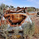 Rusted Peace - Lightning Ridge NSW Australia by Bev Woodman