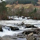 River Dochart Panorama by Tom Gomez