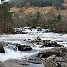 River Dochart Panorama by Tom Gomez