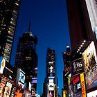 A Night in Times Square by mikebone