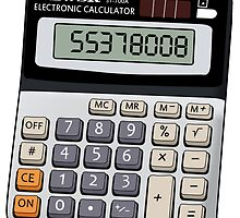 Naughty calculator by wetchickenlip