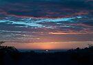 Red sky in morning by Odille Esmonde-Morgan