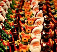Santas at the Christmas Market by Darren Taylor