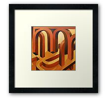 Lost in the Cloisters Framed Print