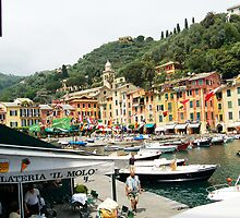 Gelato in Portofino, Italy by Ralph Angelillo