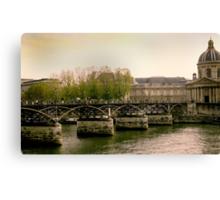 Seine of Old Canvas Print