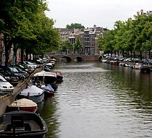 Amsterdam Canal by George Crook