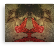 The Succubus and The Doppelgänger: Canvas Print