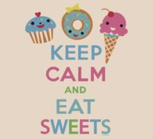Keep Calm and Eat Sweets 2 by Andi Bird