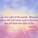 Let's Celebrate the Light of the World - John 8:12 by Diane Hall