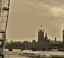 Old/New London Town by Debbie Westerman