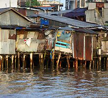 Living on the Mekong Delta by Kristi Robertson