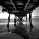 Henley beach jetty, Adelaide South Australia by Joseph Brown