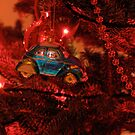 VW Beetle Christmas Ornament by vschmidt