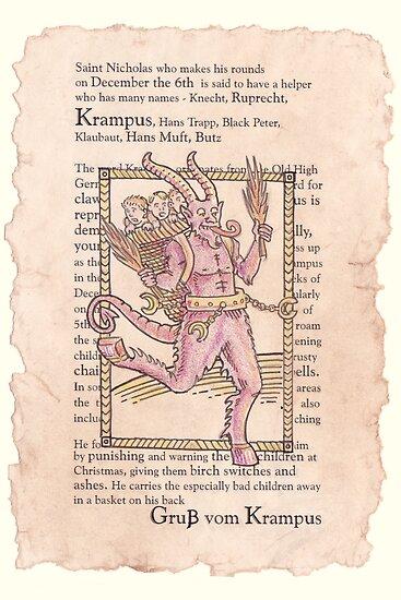 Christmas Krampus by retromancy