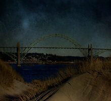 Yaquina Bay Bridge by aussiedi