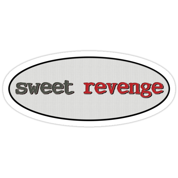 sweet revenge - sticker by vampvamp