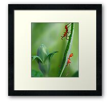 Hi Ho Hi Ho It's Off To Work We Go Framed Print