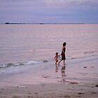 Evening Paddle by Lyn Fabian