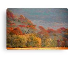 Top Of Autumn Canvas Print