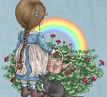 rainbows end card by vian