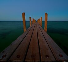 Quindalup Jetty WA by Emma  Spencer