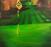 12th hole by Jennifer Karbula
