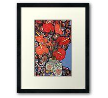 Anthurium Lilies Framed Print