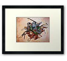 Dead Genius Ninja Artists Framed Print