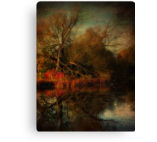 Autumn's Decay Canvas Print