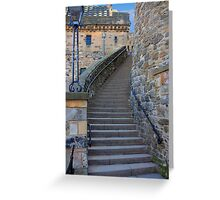 The Lang Stairs Greeting Card