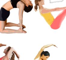 Love Yoga Sticker